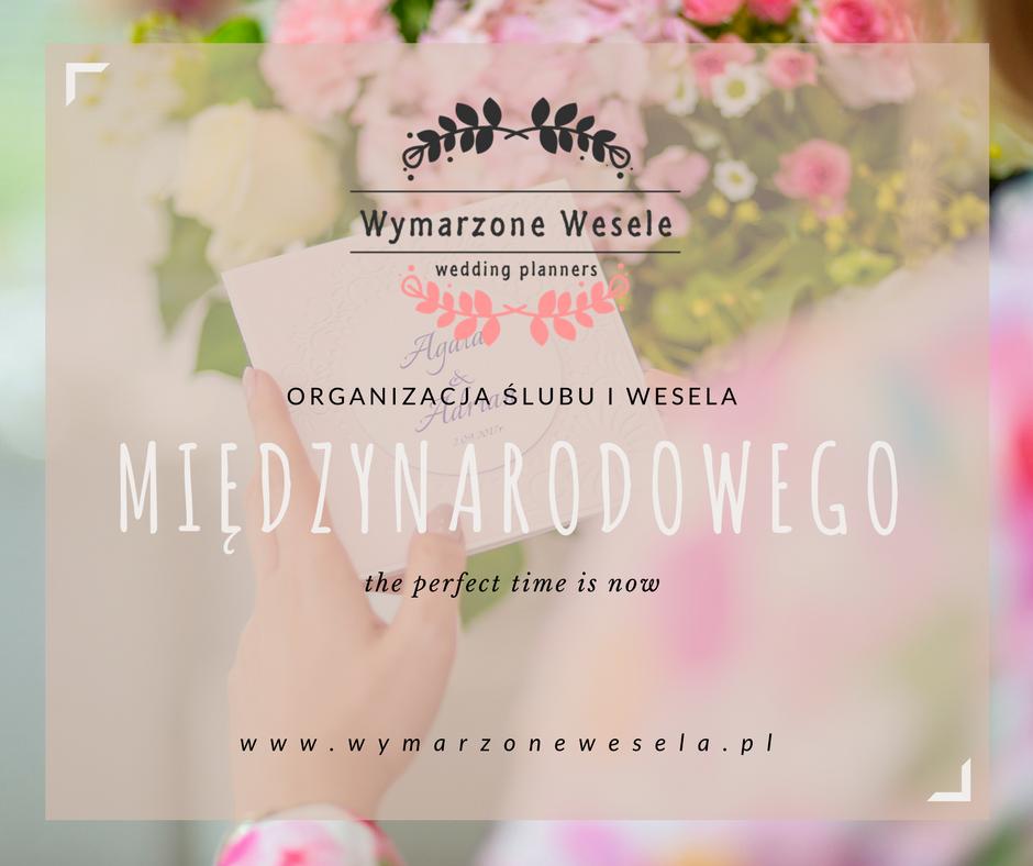 organizacja ślubu i wesela miedzynarodowego