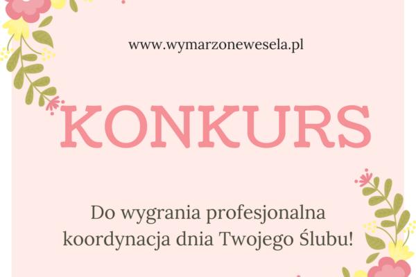 Konkurs_Agencja_Ślubna_Wymarzone_wesela