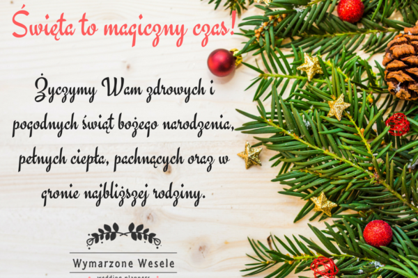 Święta to magiczny czas!